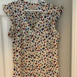 Philosophy XS floral print blouse